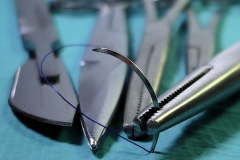 surgery, surgical needle and operation suturing